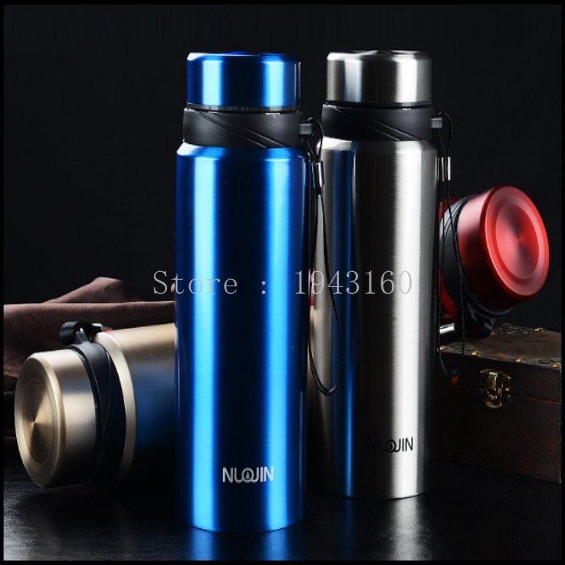 750ML Thermos Cup 304 Stainless Steel Insulated Mug with Tea Infuser Thermo Mug Garrafa Termica Coffee