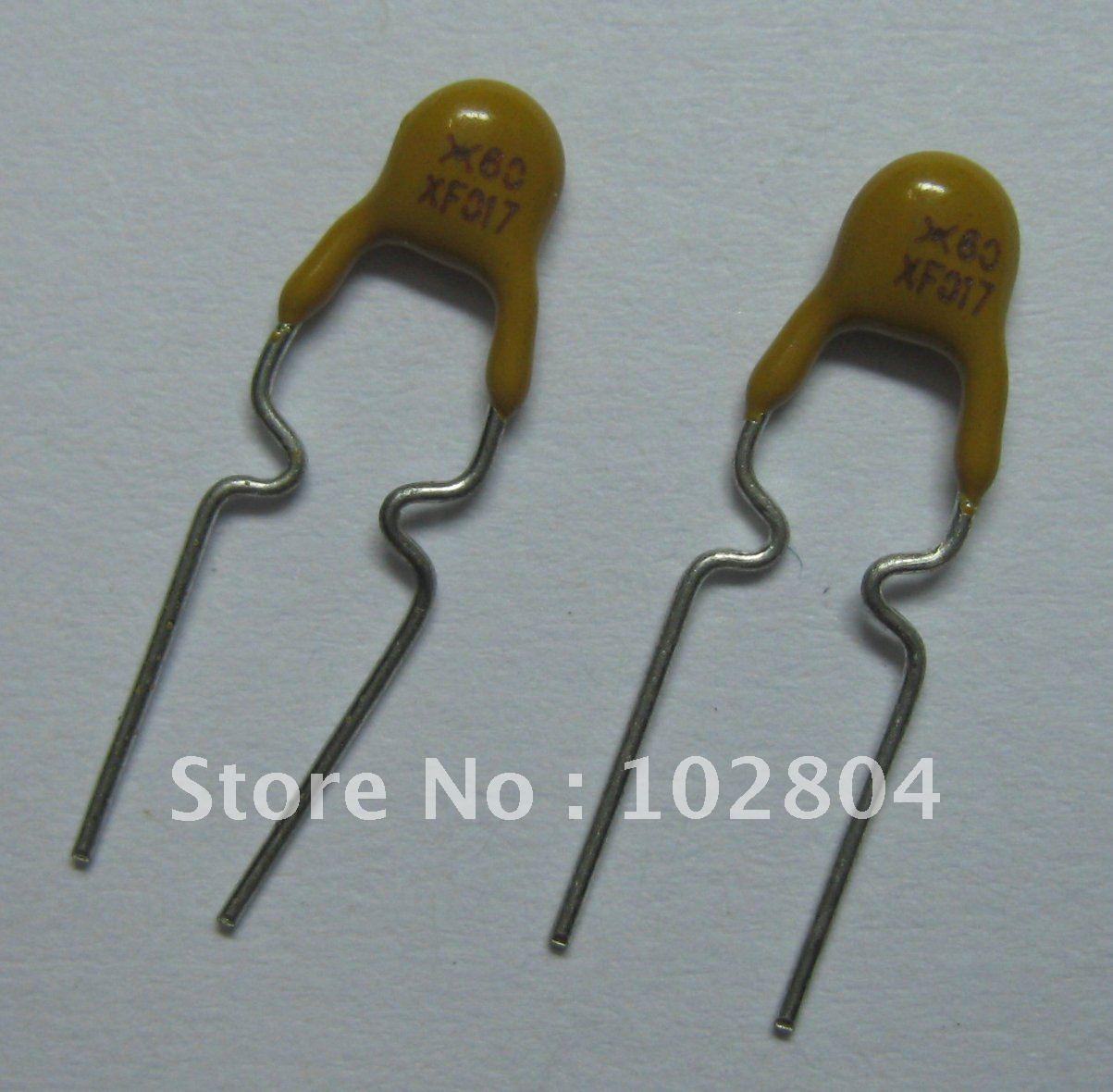 1000 шт. в партии 60 в 0.17A XF017 полипереключатель радиальный этилированный PPTC сбрасываемый предохранитель