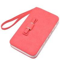 Haute-volume sacs à main Multicolore dames portefeuille longue section téléphone paquet de Haute Qualité Tissu Bowknot boîte à lunch nouveau sacs