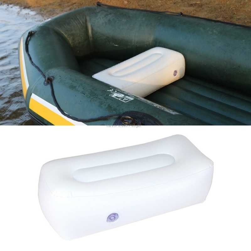 Inflatable Boat Air Cushion For Fishing Boat Outdoor Camping Rest Seats Valve