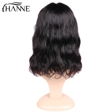 Natural Wave Lace Front Human Hair Wigs Free Part Brazilian Remy Hair Short Bob Wigs For Women Pre-Plucked Wig HANNE Hair цена