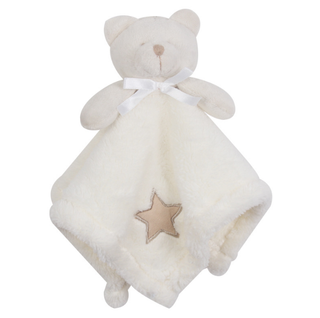 1Pcs/set Cute Bear Newborn Blankie Of Baby Toys Infant Soothe Towel Newborn Baby Gift To Soothe Towel Educational Plush Toys