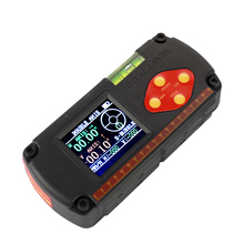 Portable LCD Display Dual axis Angle Ruler Digital Level Inclinometer 0.1 Accuracy with USB Cable and Built in Lithium Battery