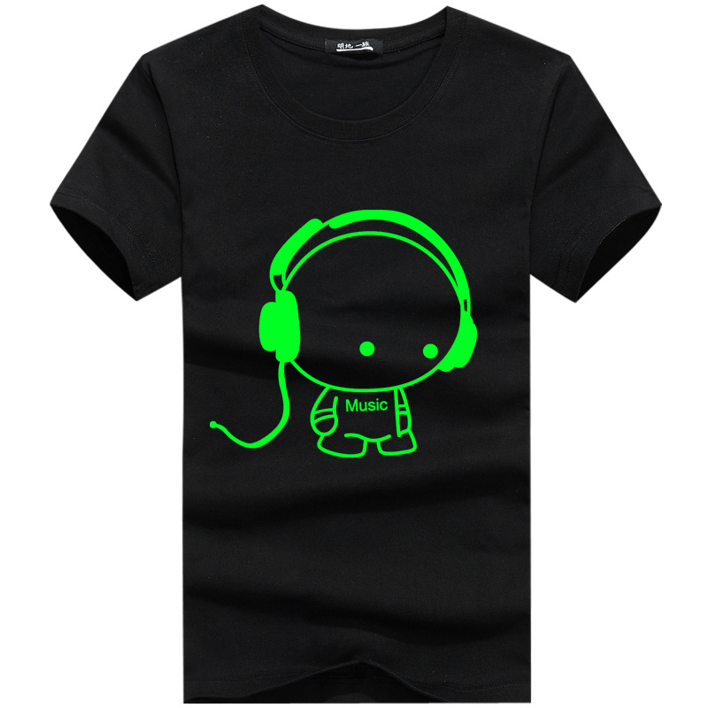 2018 New Summer DJ Carton Boy Character Printed T-shirts Men Slim Fit O-Neck Men T Shirts Hip Hop Short Sleeve Tees 3XL, PA138