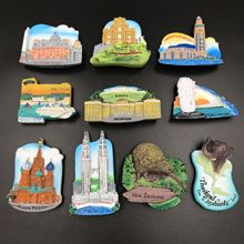 Resin 3D Fridge Magnet San Francisco London Paris Japan Greece Sydney Bali Souvenir
