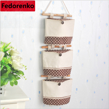 Home Office Storage canvas hanging organizer organizadores organizador wall door wardrobe closet armario storage pockets