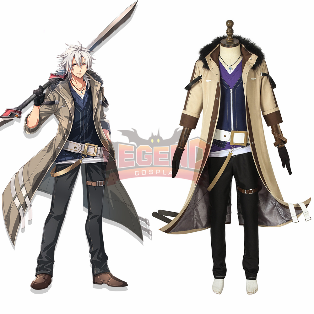 Trails of Cold Steel IV: The End of Saga Crow Armbrust cosplay costume outfit adult costume custom size custom made