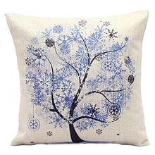 Decorative Colorful Flower Tree Pillowcases – FREE Shipping