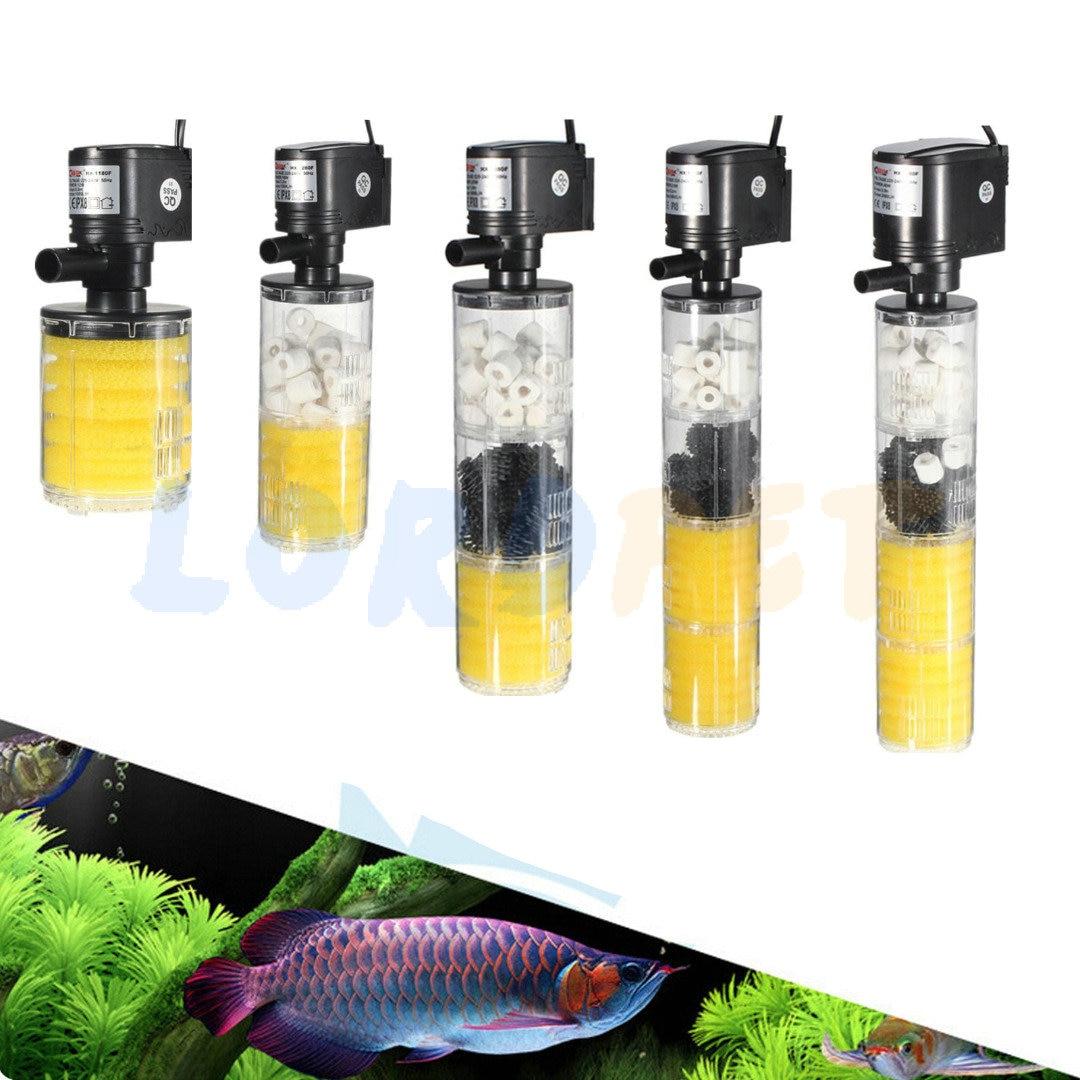 Aquarium fish tank external filter ef 1 1000l h - Aquarium Fish Tank Internal Submersible Filter Water Pump Spray Bar 1000 3500l H 3in1
