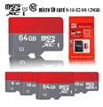 Micro SD Card 32GB Class10 16GB/64GB/128GB Class10 8GB Class 6 Memory Card Flash Memory Microsd for Smartphone