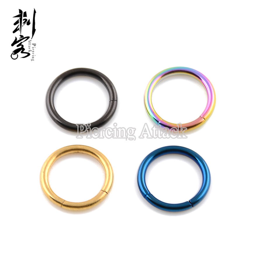 14 Gauge Anium Anodized Segment Ring
