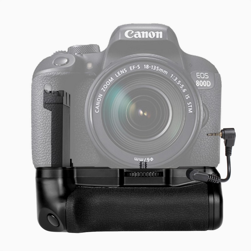 New Profeesional Multi Power Battery grip pack holder for Canon EOS 800D Rebel T7i 77D Kiss