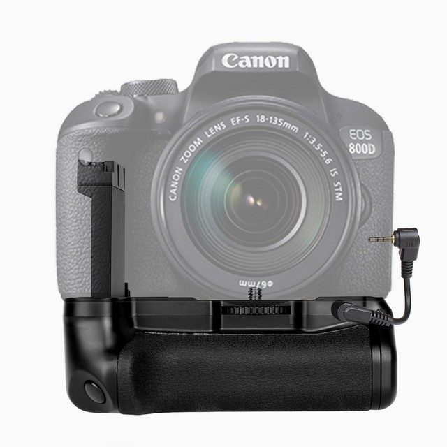 New Profeesional Multi Power Battery grip pack holder for  Canon EOS 800D/Rebel T7i/77D/Kiss X9i DSLR camera work with LP E17