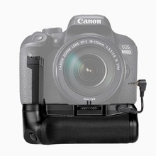 New Profeesional Multi Energy Battery grip pack holder for  Canon EOS 800D/Insurgent T7i/77D/Kiss X9i DSLR digicam work with LP-E17
