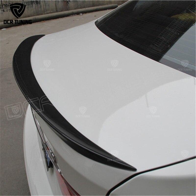 BMW F30 F80 M3 Spoyler Karbon Fiber Material M Performance 2012 - UP - Avtomobil ehtiyat hissələri - Fotoqrafiya 3