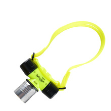 LED diving headlights 3*AAA battery-powered night fishing swimming waterproof