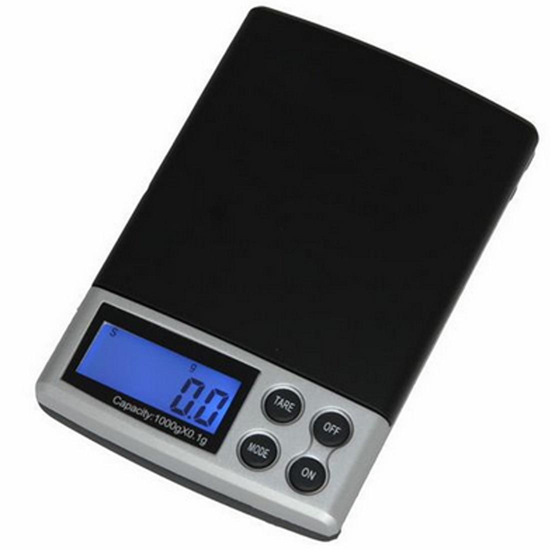 1pc 500g x 0.01g Escala de precisión digital Oro Plata Joyería - Instrumentos de medición - foto 5