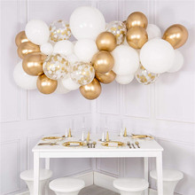 60pcs DIY Party Decorations Balloon Arch Garland Kit Decorating Strip Holiday Wedding Baby Shower Graduation Anniversary