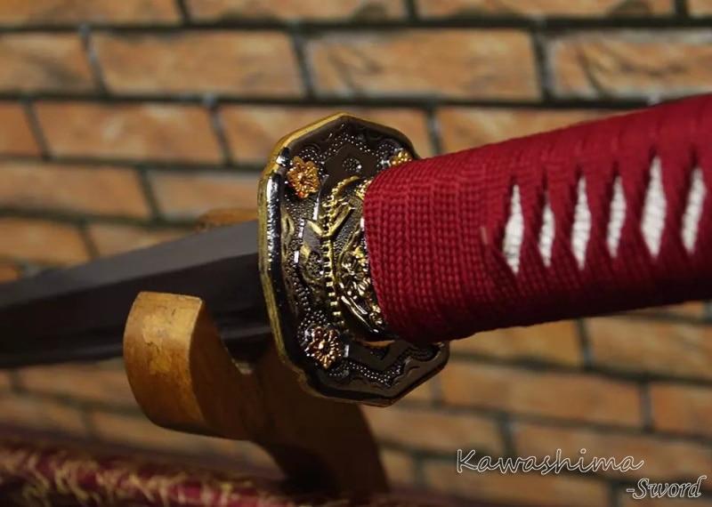 ნამდვილი სამურაის ხმალი - სახლის დეკორაცია - ფოტო 6