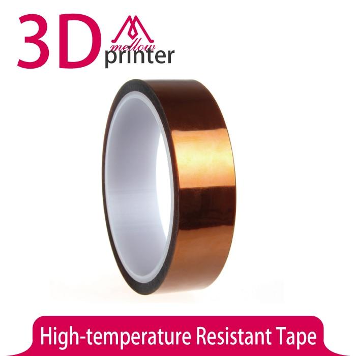 DIY Accessories 20mm High temperature Resistant Tape for 3D Printer platforms