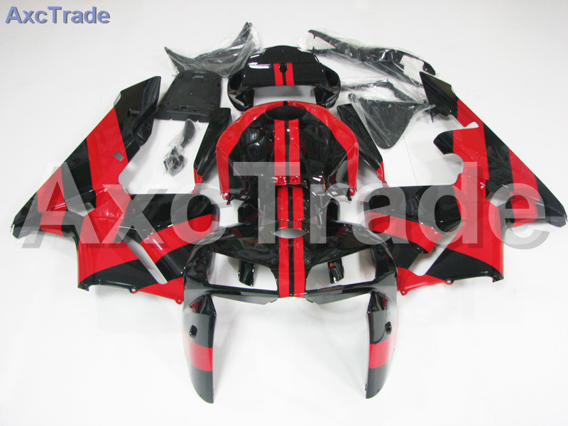 Motorcycle Fairings Kits For Honda CBR600RR CBR600 CBR 600 RR 2005 2006 F5 ABS Plastic Injection Fairing Kit Bodywork Red Black custom made motorcycle fairing kit for honda cbr600rr cbr600 cbr 600 rr 2007 2008 f5 abs fairings kits fairing kit bodywork c99