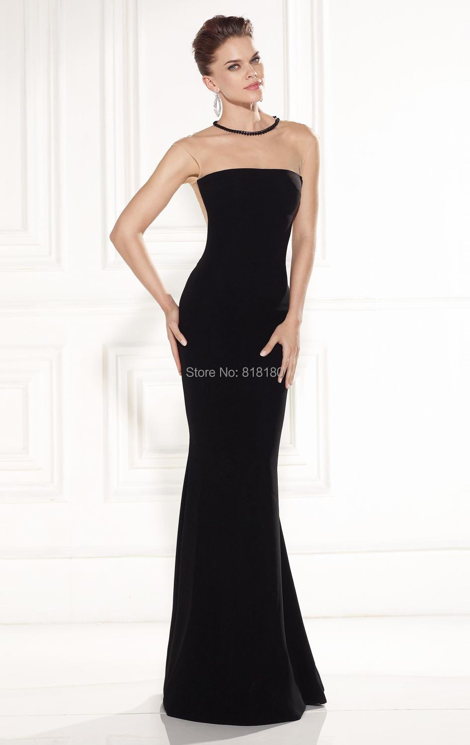 Neueste designs Tarik Ediz robe de soiree kleid party elegante o ...