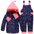 Baby Girls Boys Winter Down Coat Clothes Set 10-24 Months Kids Cute Diy Snow Wear Thicken Down Jacket+overalls Pants 2 Pcs Suit