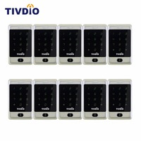 10pcs RFID Access Control 125KHZ Touch Keypad ID Door Access Control System Backlight Keypad Standalone F9503D