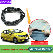 Car-styling For Honda Jazz Fit 2009-2018 Anti-Noise Soundproof Dustproof Car Dashboard Windshield Sealing Strips Car Accessories