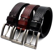 Cow Genuine Leather Belts For Men Luxury Famous Brand Designer Strap Male Pin Buckle Vintage Jeans Wide cinto masculino