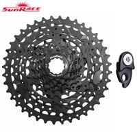 SunRace Bicycle Freewheel 9 Speed CSM990 Durable steel Mountain Bicycle Cassette Tool MTB Flywheel Bike Parts 11 40T