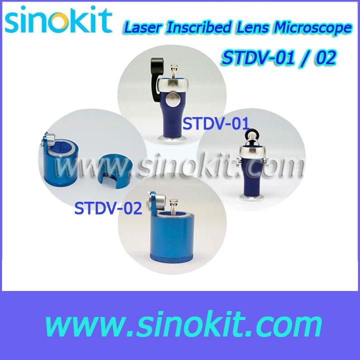 ФОТО Professional 15X laser-inscribed diamond lens housing - STDV-01