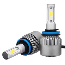 NEW H11 180W DC 9-32V 18000LM 2-Sided COB LED Headlight Kit Low Beam Bulbs 6000K White High Powe Light COB LED Driving Front