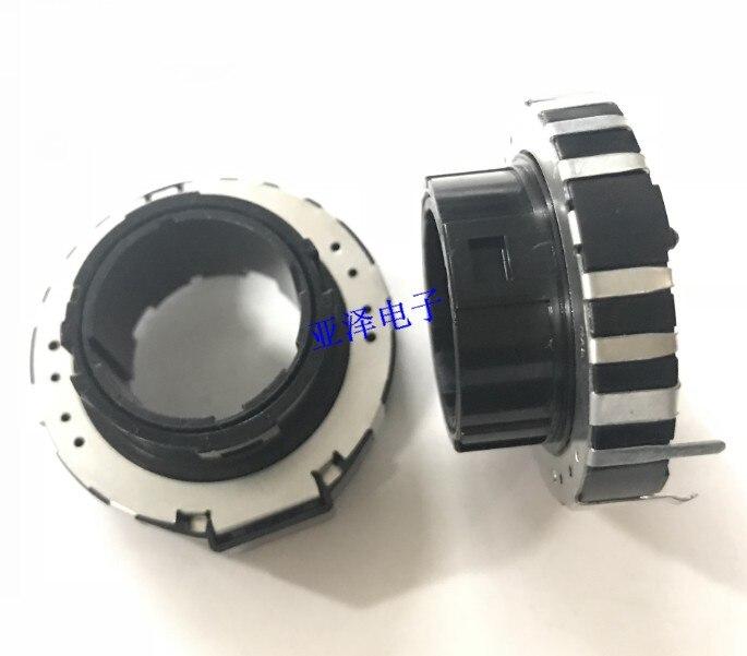 [VK]ORIGINAL EWVYEPU05B14 Japan hollow shaft type potentiometer 10K step 180 degrees rotate 4, 5 stalls switch canada 24 type potentiometer 2 5k