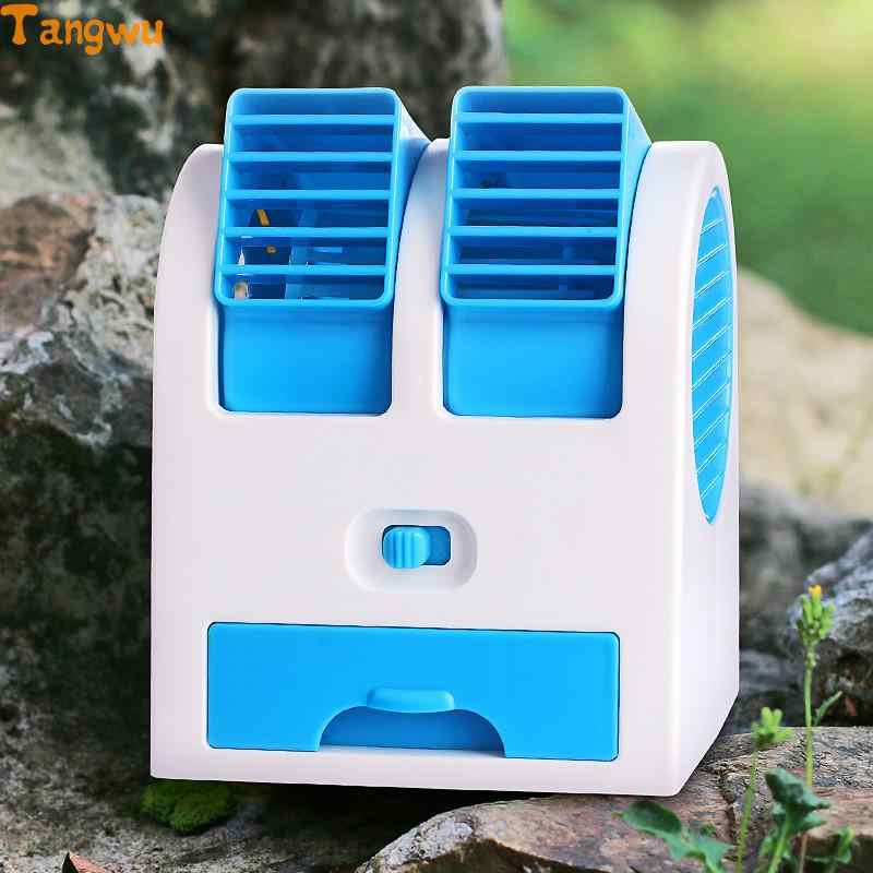 USB small electric fan air conditioning refrigeration large wind student hostel portable  rechargeable batte NEW