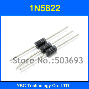 200pcs/lot 1N5822 IN5822 40V 3A Diode Schottky