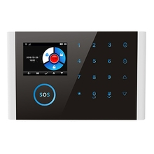 2.4 Inches Tft Crystal Screen Display Wifi Gsm Wireless Home Business Burglar Security Alarm System App Control Siren