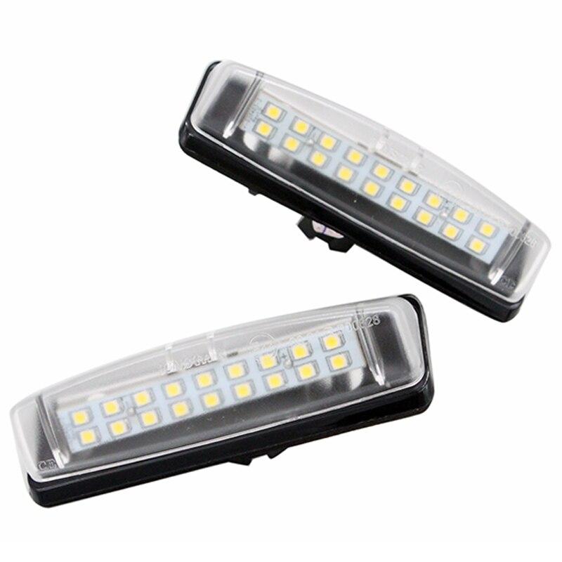 Plate Luzes Para Lexus IS200 IS300 GS300