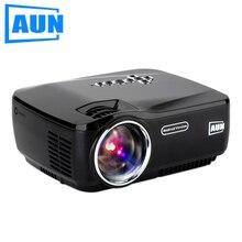 Aun am01p proyector 1200 lúmenes situado en android 4.4 wifi bluetooth certificada soporte proyector de vídeo dlan airplay beamer dc