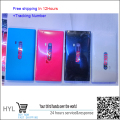 Original New Back Cover Back Battery Housing Door with USB door+sim card tray+camera glass len For nokia N9