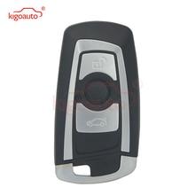 KIGOAUTO Smart Car Key 2009 2010 2011 2012 for BMW 5 7 Series 3 Button 315mhz HUF662 Blade YGOHUF5662 remote key 315 433 868 mhz smart remote key 4 buttons for bmw 3 5 7 series cas4 system 2009 2010 2011 2012 2013 2014 2015 2016 kr55wk49863