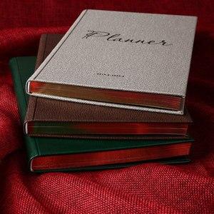 Image 3 - Gündemleri 2019.6 2020 6 Planlayıcısı Organizatör A5 Günlüğü Dizüstü ve Dergiler Lüks Vintage Haftalık Aylık not defteri Vintage Program
