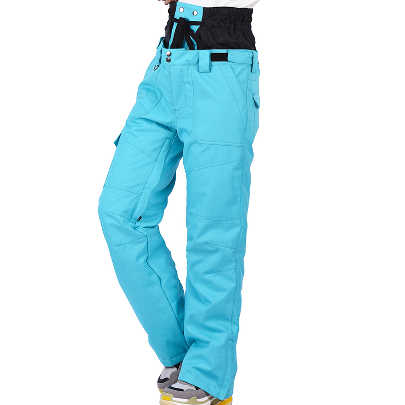Marsnow Snowboard pants female Russian -20-30 degree Thicken Warm Trousers outdoor waterproof windproof winter pants men