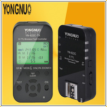 YONGNUO YN-622C-TX Transmitte + YN622C Single Transceiver Kit 2.4G Wireless TTL Flash Trigger Transceiver Controller For Canon