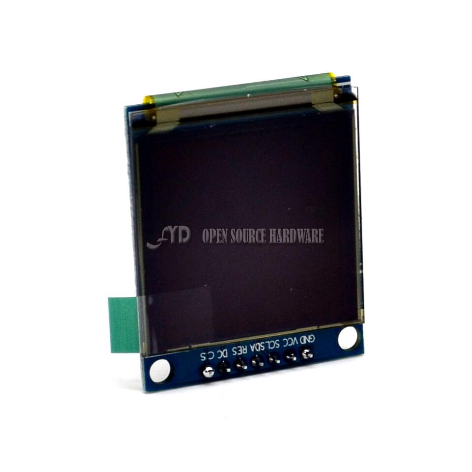 Genuine 1.5 inch OLED display 128,128 LCD display for program Schematic