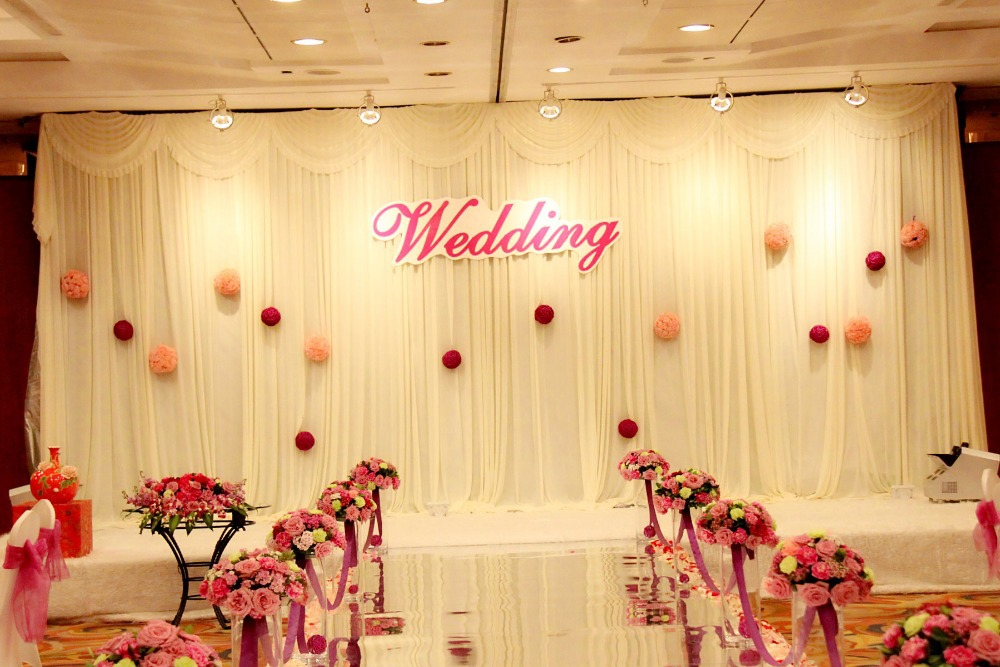 2016 New Model Wedding Backdrop Wedding Curtain 3m10ft6m20ft