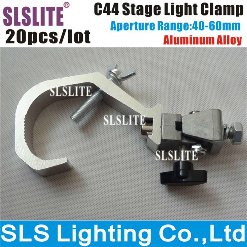 20PCS/LOT 06A Aluminum Adjustable Clamp, Stage Light Clamp, Light Hanging Clamp/G clamp/O clamp