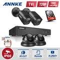 ANNKE 4CH Full HD 1080N 4IN1 Камеры ВИДЕОНАБЛЮДЕНИЯ DVR Системы 720 P TVI Камеры Безопасности p2p Открытый Водонепроницаемый Видеонаблюдения комплект 1 ТБ HDD