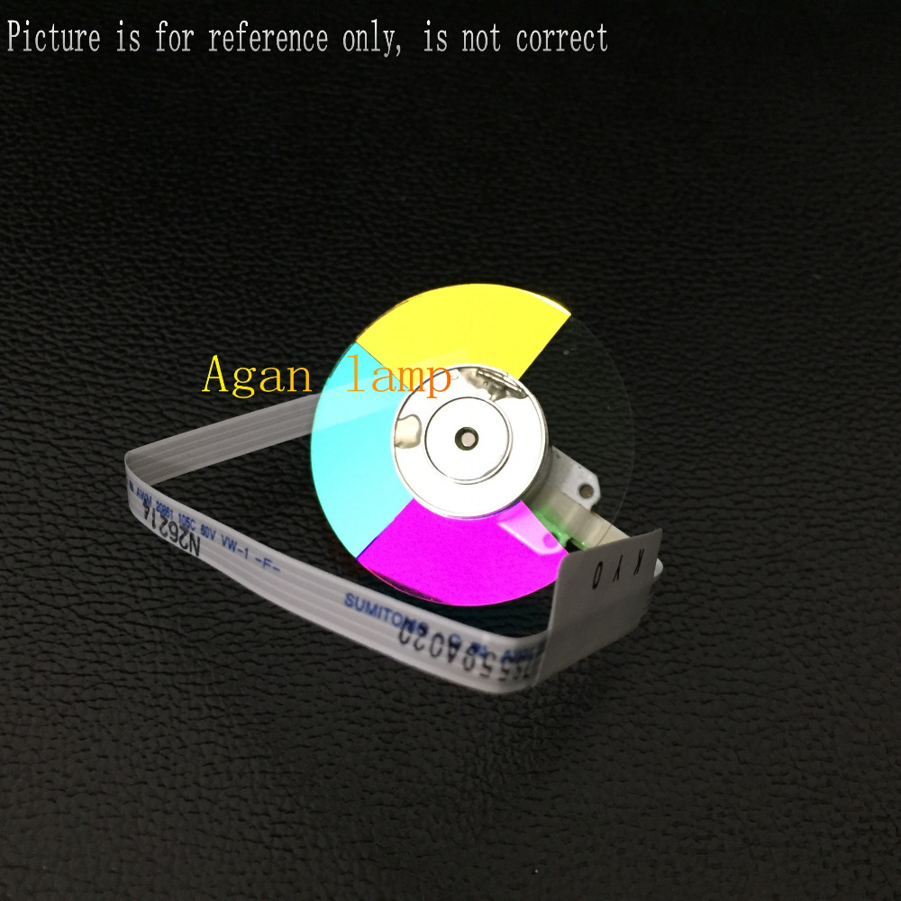 100% NEW Original Projector Color Wheel for Optoma HD25 wheel color original projector color wheel for optoma ex540i