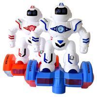 電気led残高バトルロボット玩具点滅light_upミュージカルクリエイティブデザイン発達インタラクティブランダムカラー